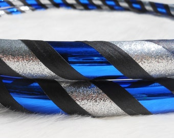 Custom Travel Hula Hoop 'Midnight Dream' - Made YOUR Size. Over 28,000 Hoops Hand-made and Sold since '07.
