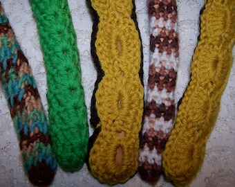 Crochet hanger set of 5 Earth autumn charmers buy 2 get 1 free sale on now