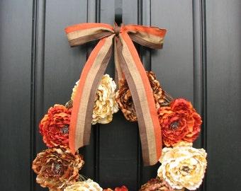 Fall Wreaths, Autumn Wreaths, Fall Decor, Front Door Wreaths, Holidays, Thanksgiving, Harvest