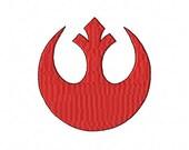 Star Wars Rebel Alliance Machine Embroidery Design hus pes xxx jef vp3