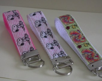 Snoopy & Woodstock Keyfobs