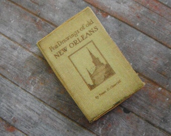 Miniature Book of New Orleans Drawings
