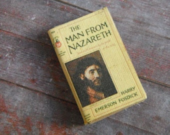 Miniature Book --- The Man From Nazareth