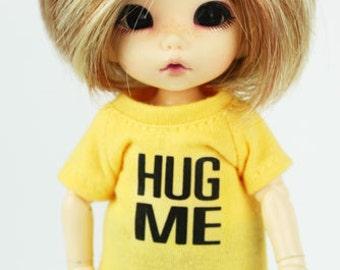 A057 - Lati Yellow / pukifee Hug me T-shirt (Yellow)