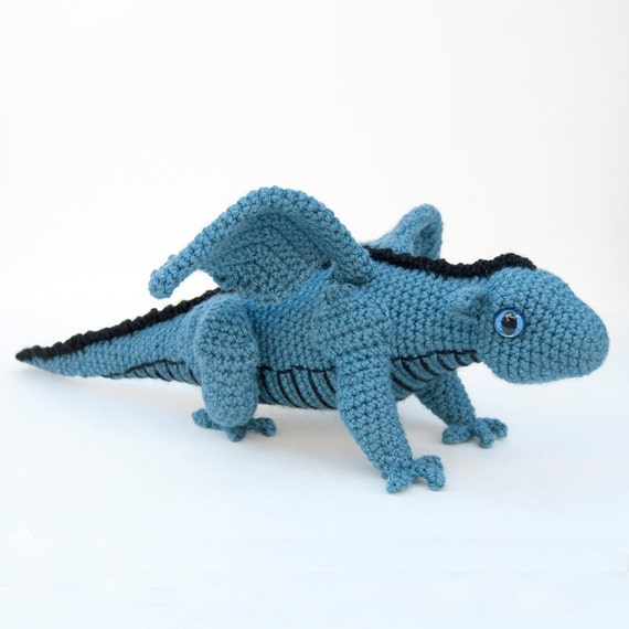 Instant Download Crochet Pattern - Baby Dragon Amigurumi
