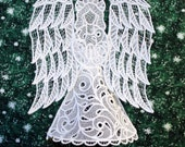 Victorian Lace Angel Tree Topper