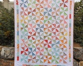 Modern Pinwheel Quilt (Snippets by American Jane)