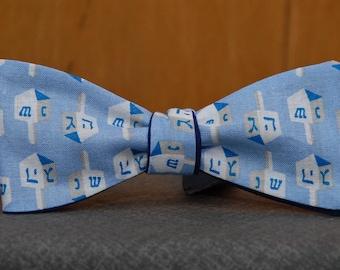 Dreidel Fun  Bow Tie