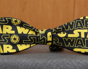 Star Wars in Black and Gold  Bow tie