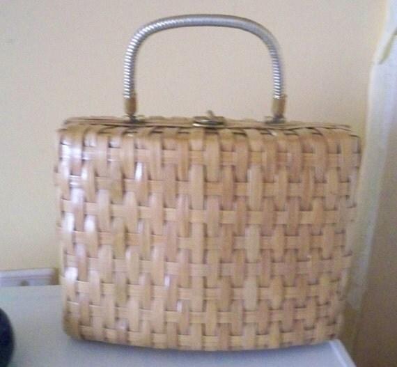 Basket Wicker Handbag Hong Kong