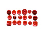 Red, Red, Red . . . Vintage Buttons