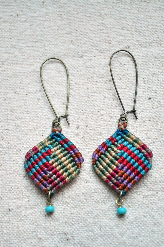 Mini Diamond Earrings