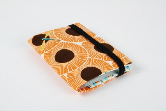Card holder - Aster in pumpkin