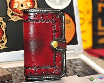 The Big Burl Super Squire- mens wallet (non-chain)