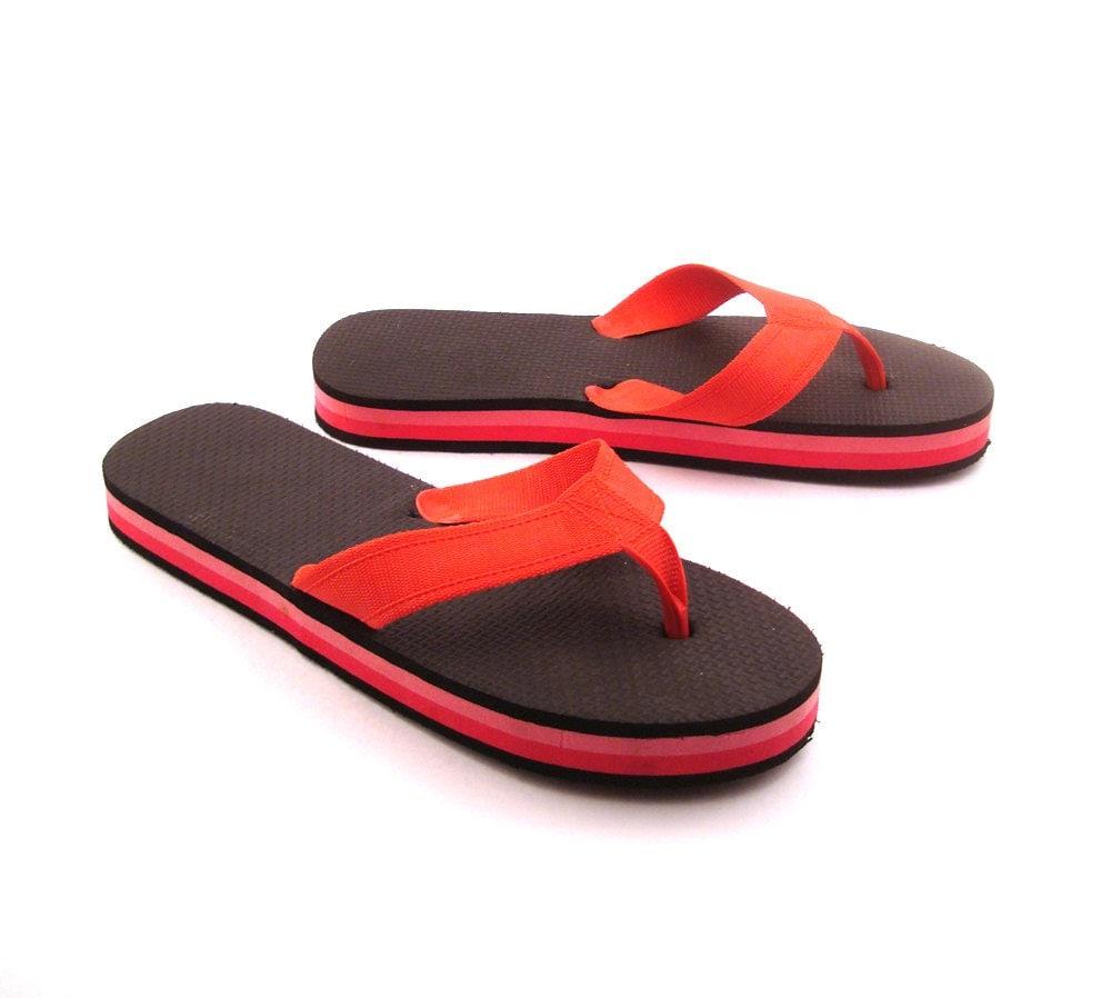 1980s Flip Flops Vintage Sandals Women's 10 by ...