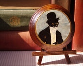 Mr Darcy Cat Tuxedo Wooden Plaque, Wall Hanging, Home Decor