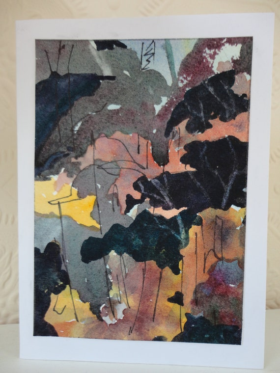 The Shade Garden blank card