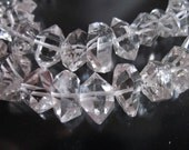 Shop Sale..  5 10 20 pcs, Herkimer Diamonds Herkimer Nuggets Herkimer Crystals Double Terminated Briolettes, Luxe AAA, 7-8.5 mm, s