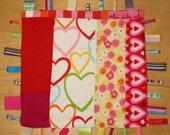 Baby Ribbon Tag Blanket