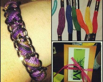 woven chain bracelet