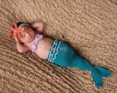 Starfish Mermaid Headband Photo Prop