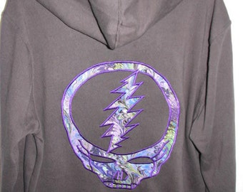 Steal Your Face Hoodie - sizes medium and large