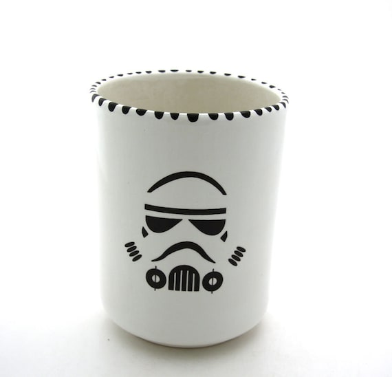 Star Wars (R) Inspired Storm Trooper (R) Kitchen Crock or BRush Holder