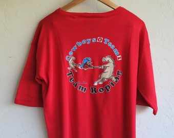 """The """"Rodeo Un-Limited USA"""" Red Shirt"""