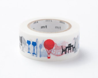mt ex Washi Masking Tape - Silhouette