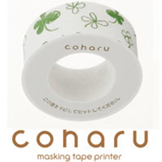 coharu Masking Tape - Sketch Clover - Printer tape