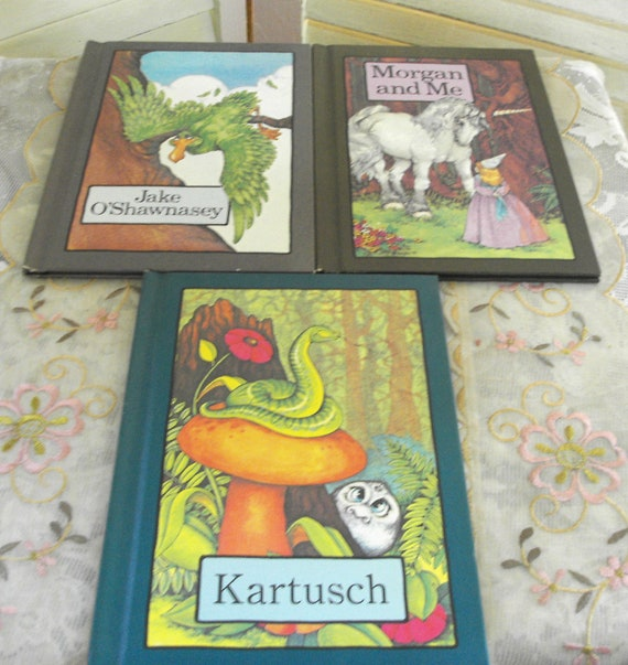 Set of 3 SERENDIPITY CHILDRENS BOOKS - Vintage 1975-1978 - Absolutely Delightful
