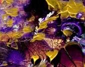 Fine Art Print Original oil painting Flowers Fairies AMETHYST BLOSSOMS Home Decor Wall Decor  8 x10 Print - ArtByNanB - Etsy