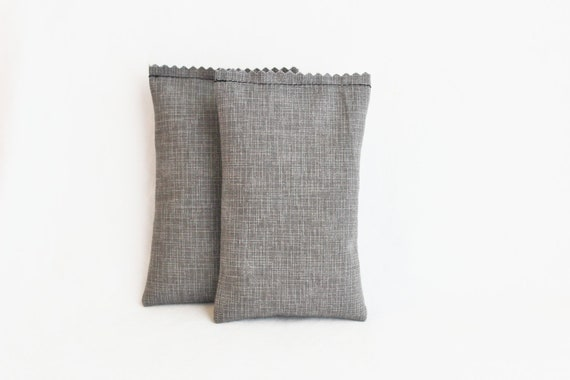 Grey Balsam Sachets, Urban Minimalist Industrial Decor, Scented Drawer Sachets