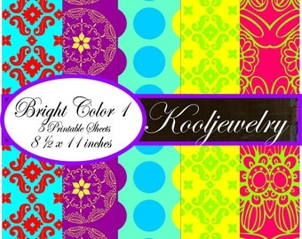 Bright colors Paper Pack - No.66