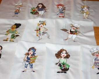 MOM's Machine Embroidered Quilt Blocks Set