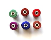 Stitching in Silk - Vintage Spools - Vintage Silk Embroidery Floss