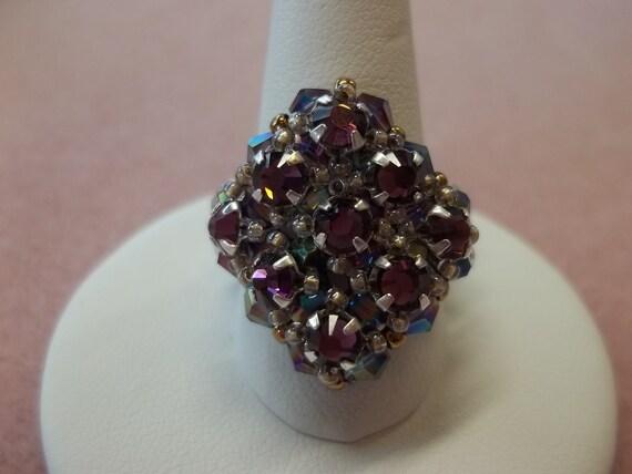 Retro Glam Purple Ring Kit