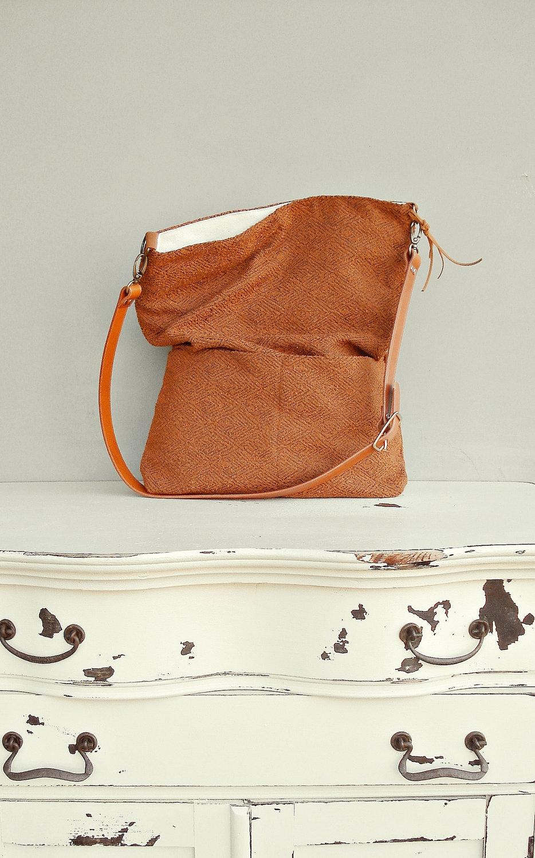 Cross Body Bag Plus Size Fabric By Mondaymorningstudios On