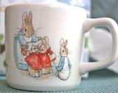 Beatrix Potter Peter Rabbit Collectible Mug in Box