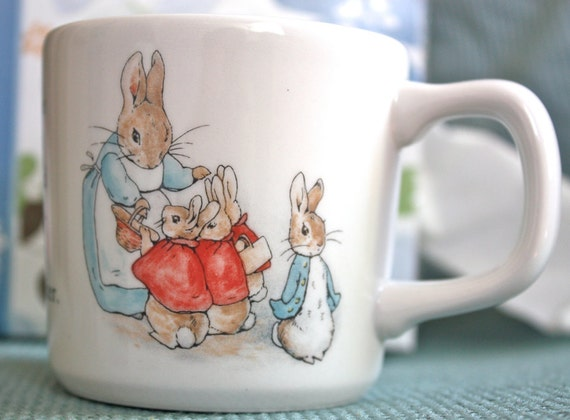 Beatrix Potter Peter Rabbit Collectible Mug in Box