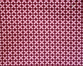 Domestic Bliss Lattice 1 Yard Cut - Plum Colorway