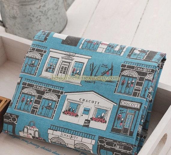 Items similar to retro blue france paris shop window for Retro shop paris