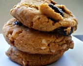Vegan  Cookie Gift  Vegan White Chocolate Cranberry Cookies Perfect for Valenitne's Day
