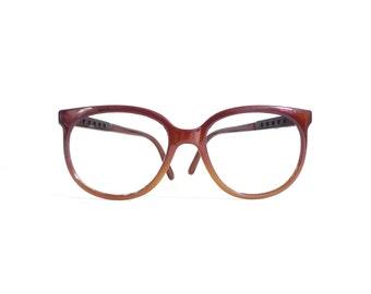 Bolle Irex 100 / Cats / Frames Only // Brown Fade Vintage Ski Sunglasses or Eyeglasses / Men / Women