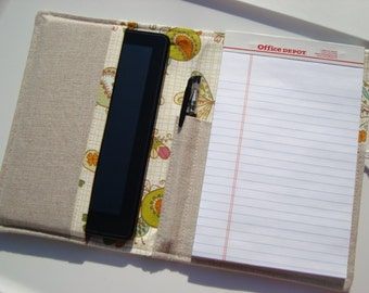 Large Honey Do List Taker/ Planner/ Ereader Holder- Comes with Note Pad and Pen -  Birds