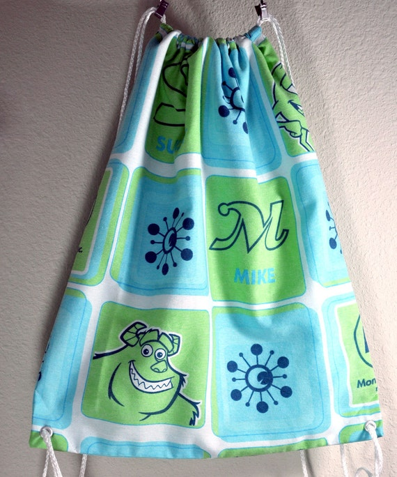 Monsters Inc Drawstring Backpack