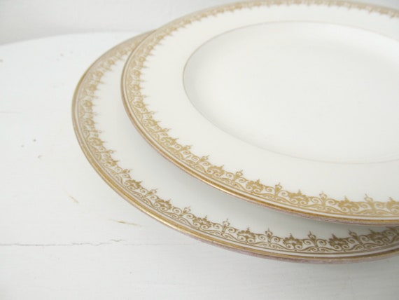 Two Limoges Antique Plates