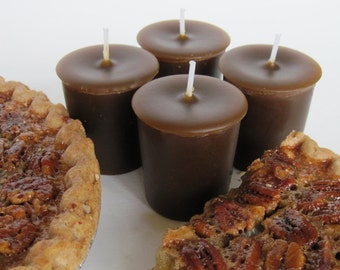 PECAN PIE (4 votives or 4-oz soy jar candle)