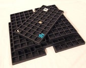 Lot Of 6  50 Slot Multipurpose Bead Sorting Trays Great For All Your Sorting And Storage Needs