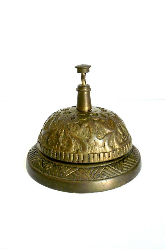 Vintage Hotel Desk Bell